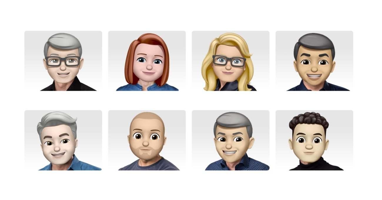 Apple Yöneticileri Dünya Emoji Günü için Memoji'ye Dönüştü