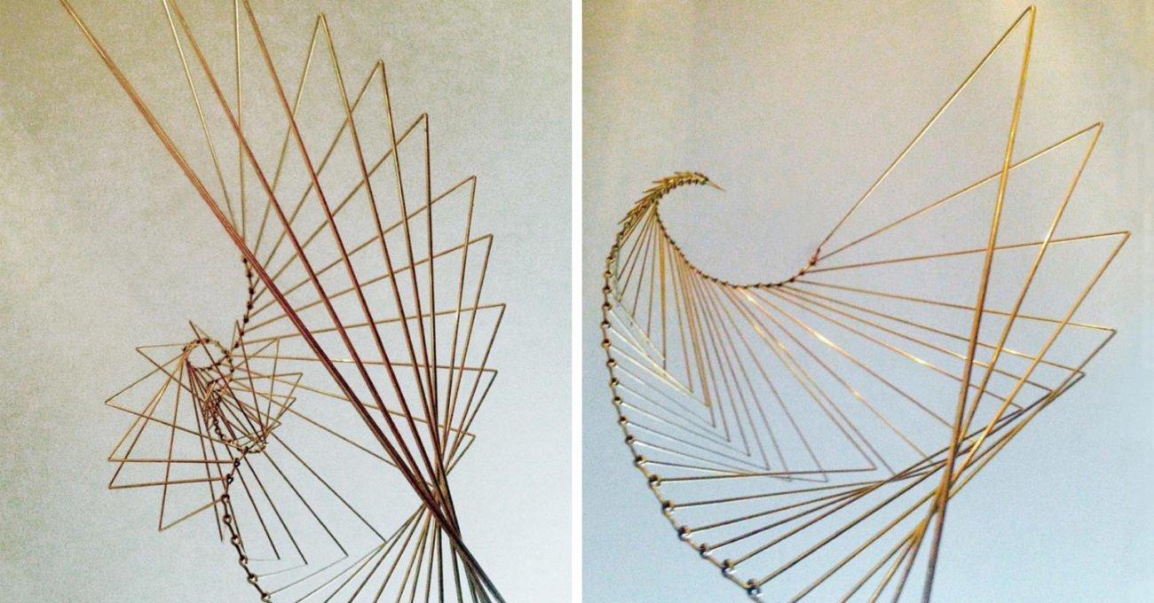 Fibonacci Dizisinden Beslenen Kinetik Heykel