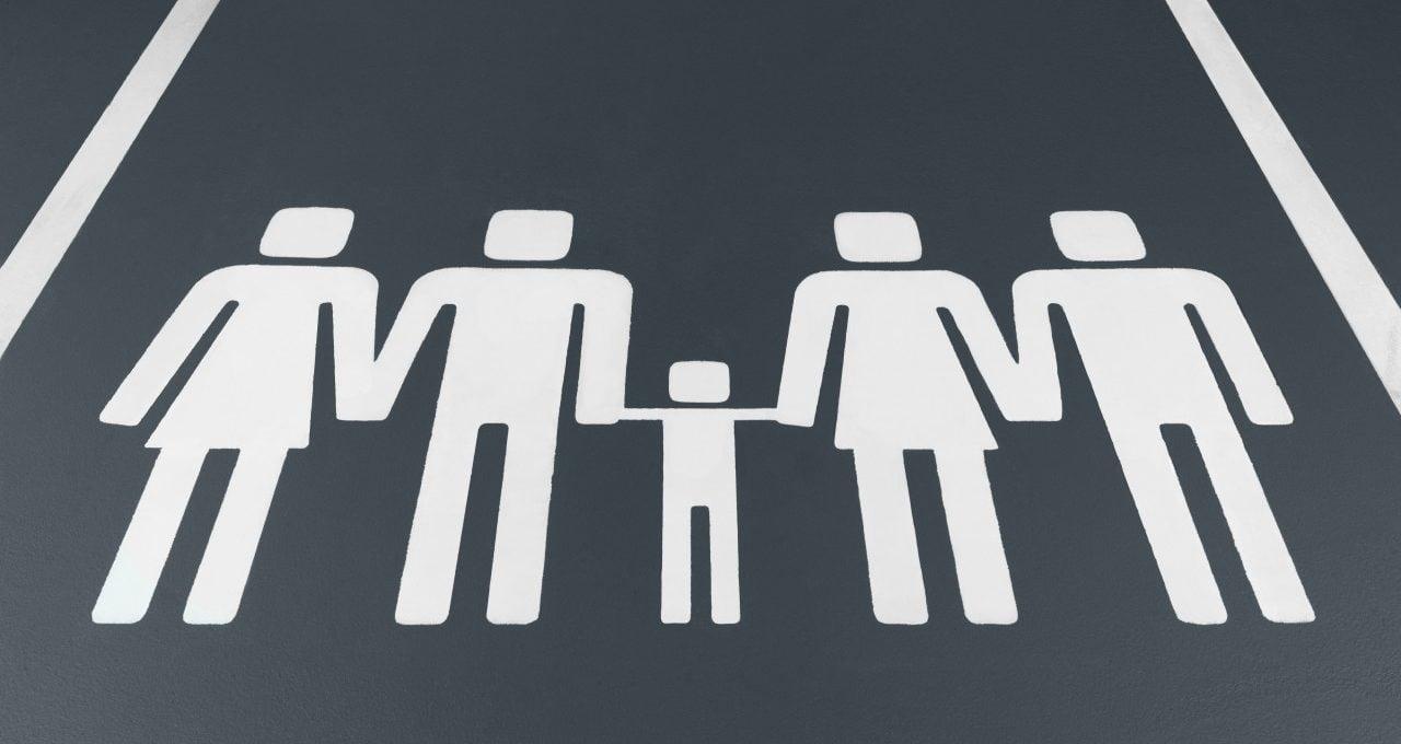 Farklı Aile Tipleri Olduğunu Hatırlatan Park İşaretleri