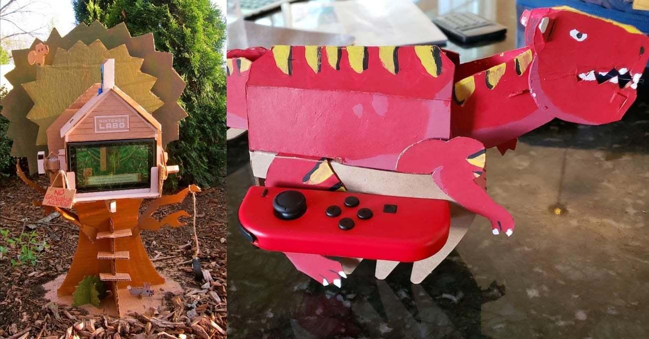Nintendo Labo ile Geliştirilen En Yaratıcı Projeler
