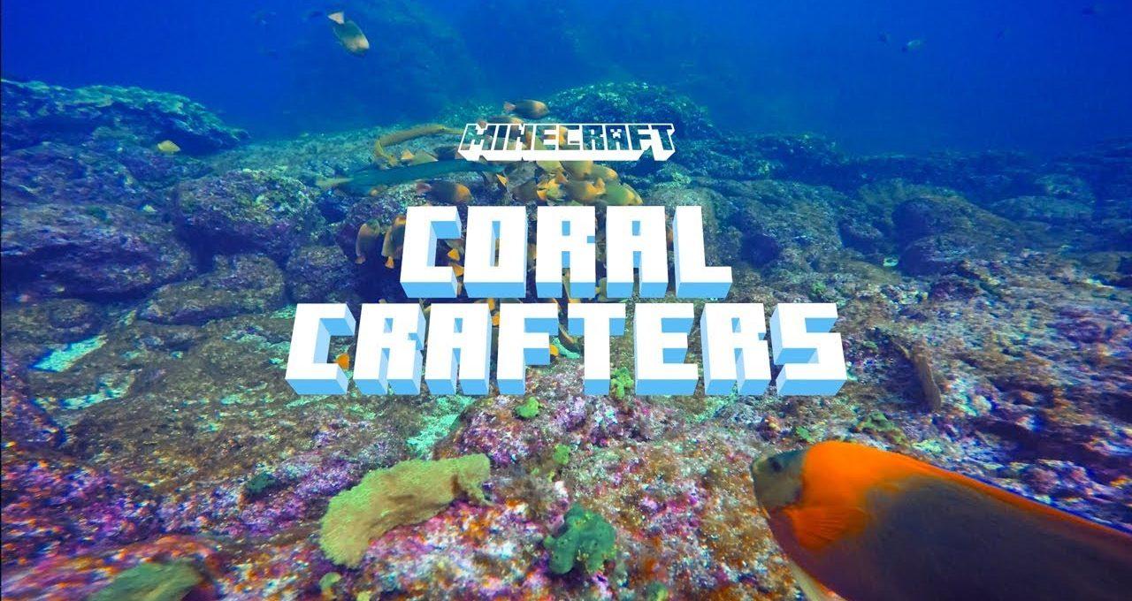 Minecraft Topluluğu Mercan Kayalıklarını Yeniden İnşa Ediyor