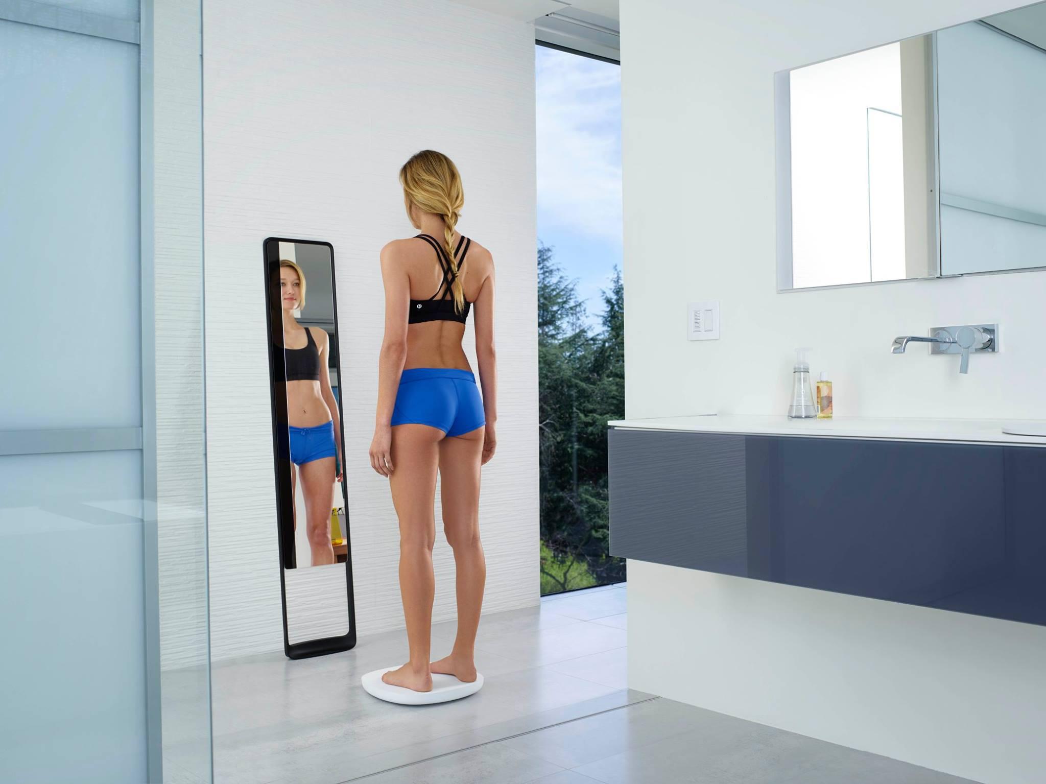 Vücudunuzu 360 Derece Tarayarak Formunuzu Takip Eden Akıllı Ayna