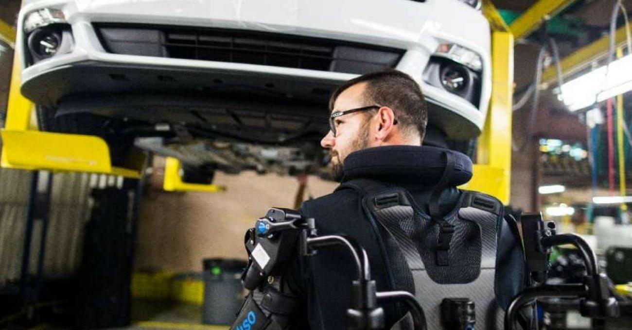 Ford İşçileri Dış İskelet Kullanacak