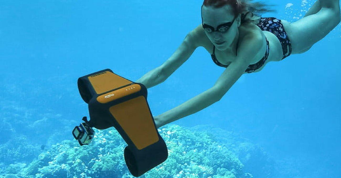 Su Altı Scooter'ı Trident Dalış Keyfini İkiye Katlıyor
