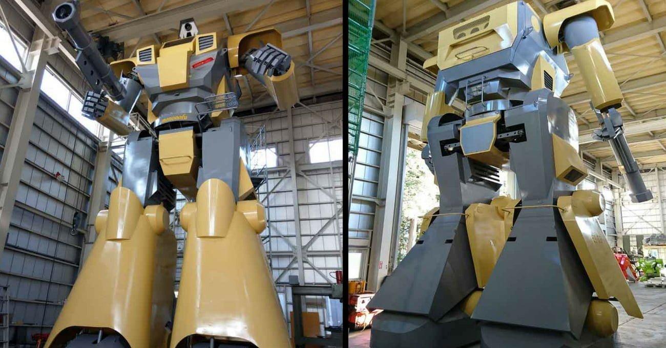 Animelerden İlhamla Yaratılan Dev Robot