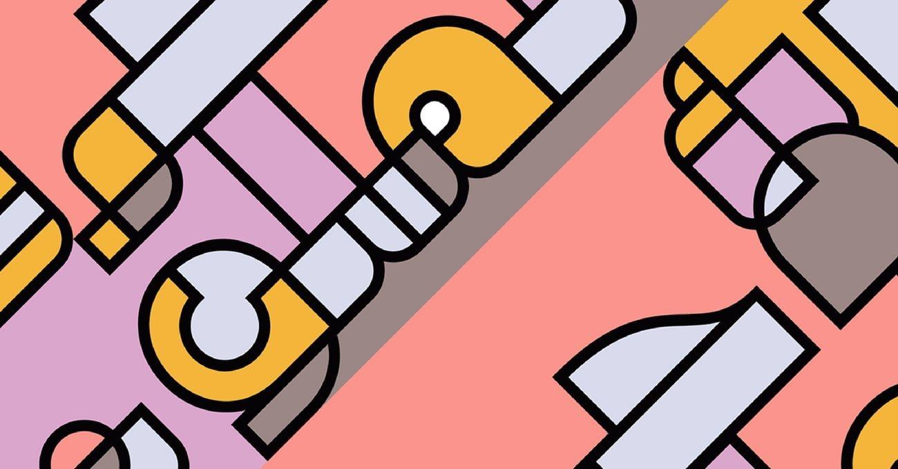 Piet Mondrian'ın Sanatını Selamlayan Font: Tajreed