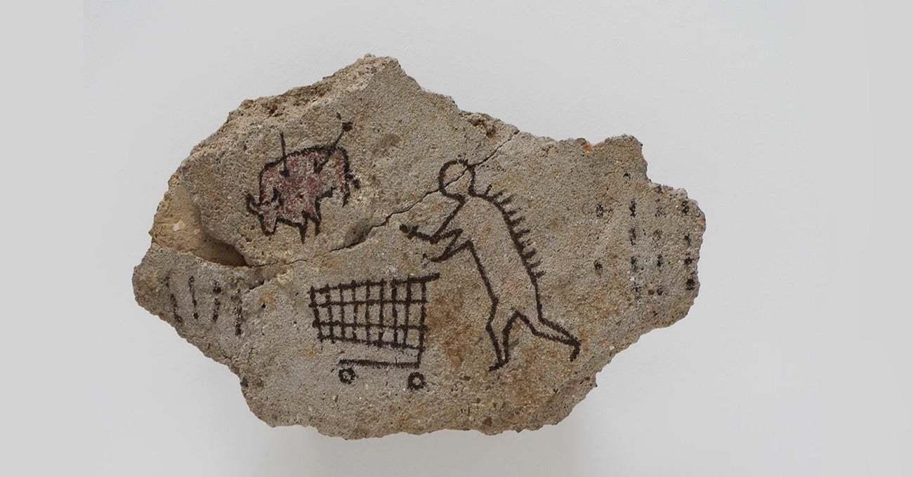 Banksy'nin Sahte Mağara Resmi British Museum'a Geri Dönüyor