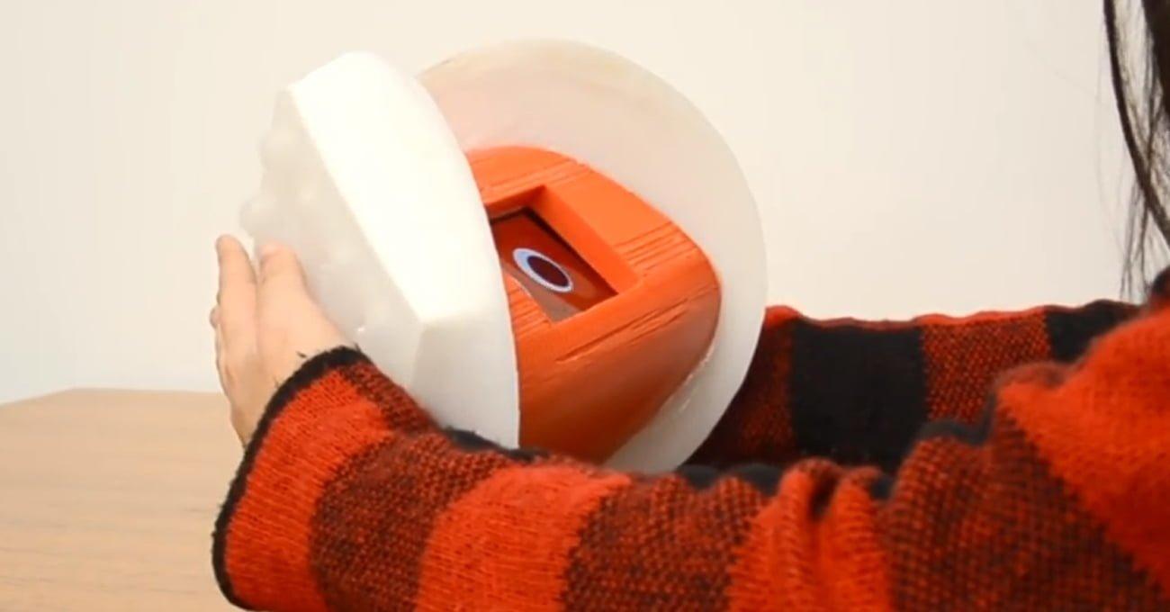 Tüylerini Dikelterek Size Tepki Veren Robot: Goosebumps