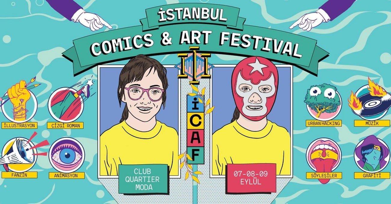 İstanbul Comics & Art Festival 2018 7-9 Eylül'de!