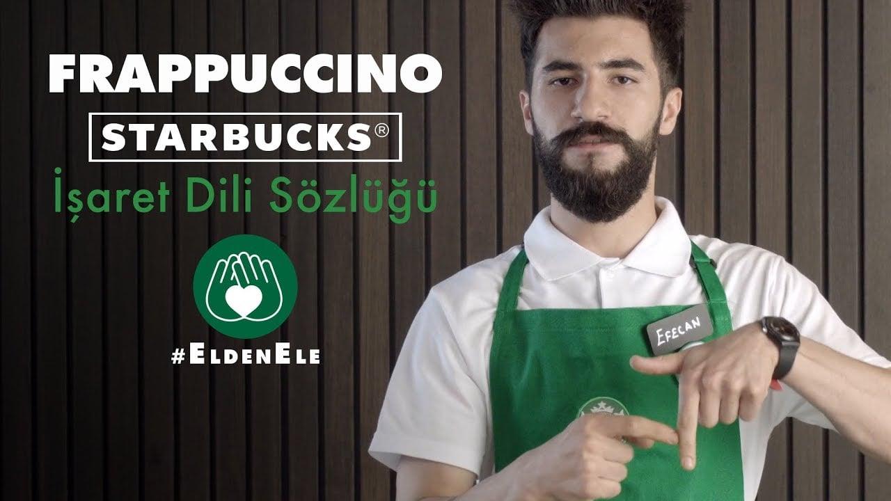 Starbucks İşaret Diliyle Sipariş Alabiliyor