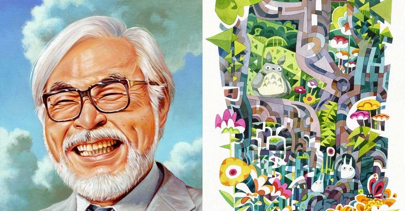 100'den Fazla Sanatçıdan Miyazaki için Görkemli Sergi