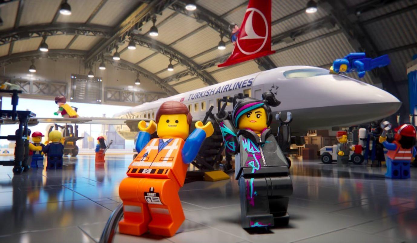 THY'den LEGO Filmi Karakterleriyle Uçuş Güvenliği Videosu