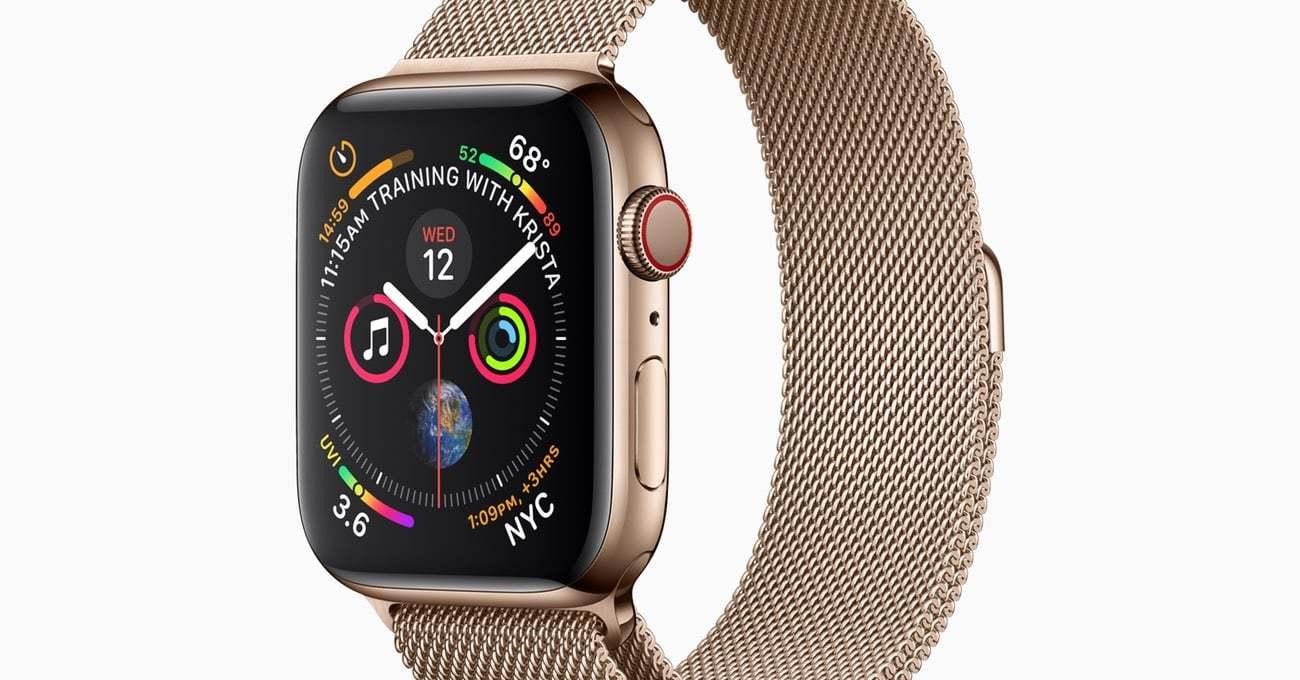 Sıfırdan Tasarlanan Yeni Apple Watch Series 4