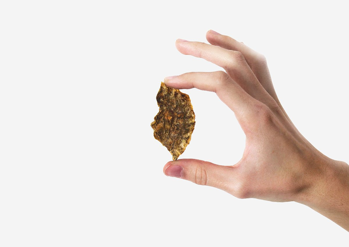 Patates Kızartması İçin Patates Kabuğundan Yapılmış Ambalaj