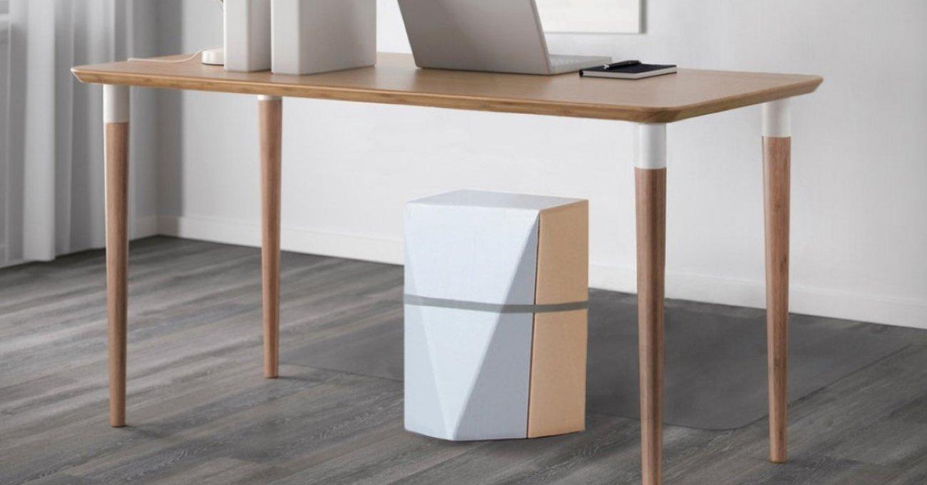 IKEA'nın Masa Ambalajı Tabureye Dönüşürse
