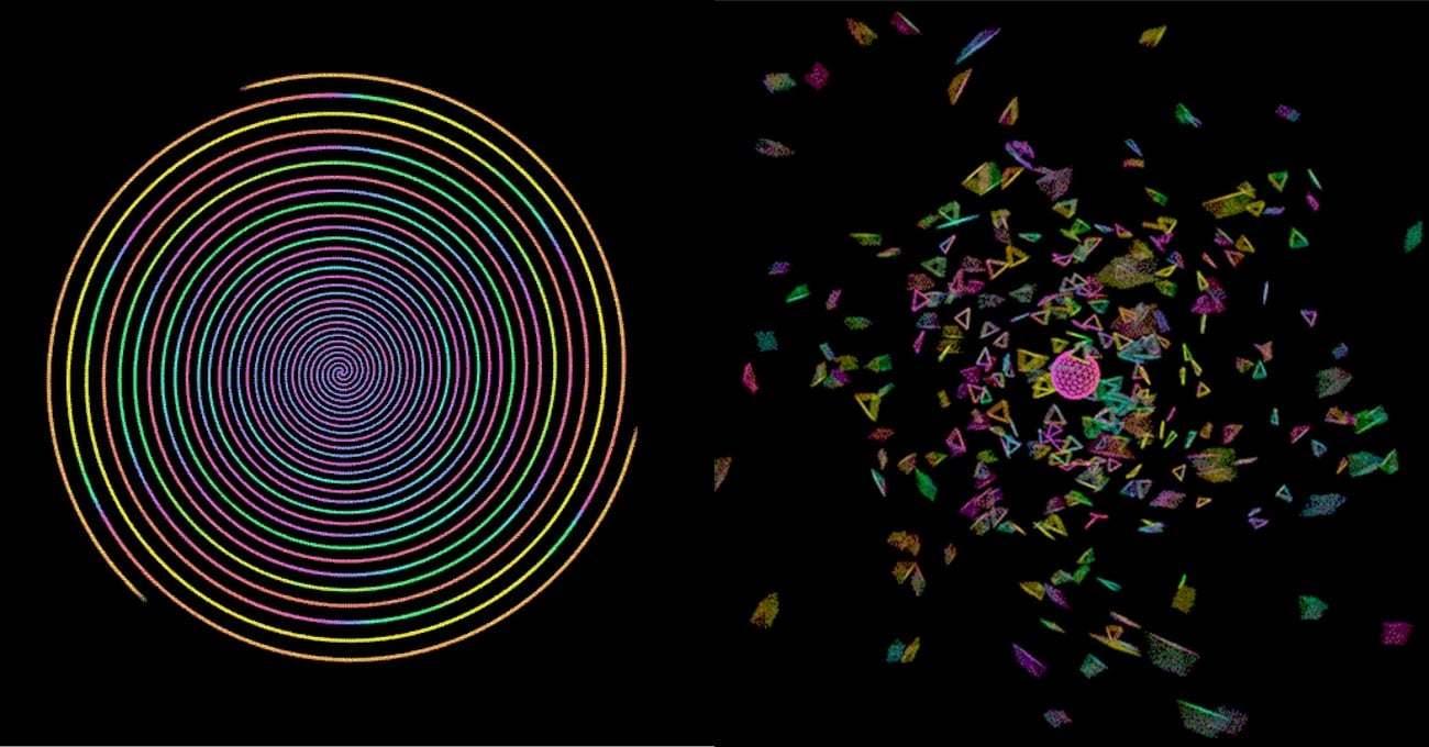 Dönen Renklerin GIF Dünyası