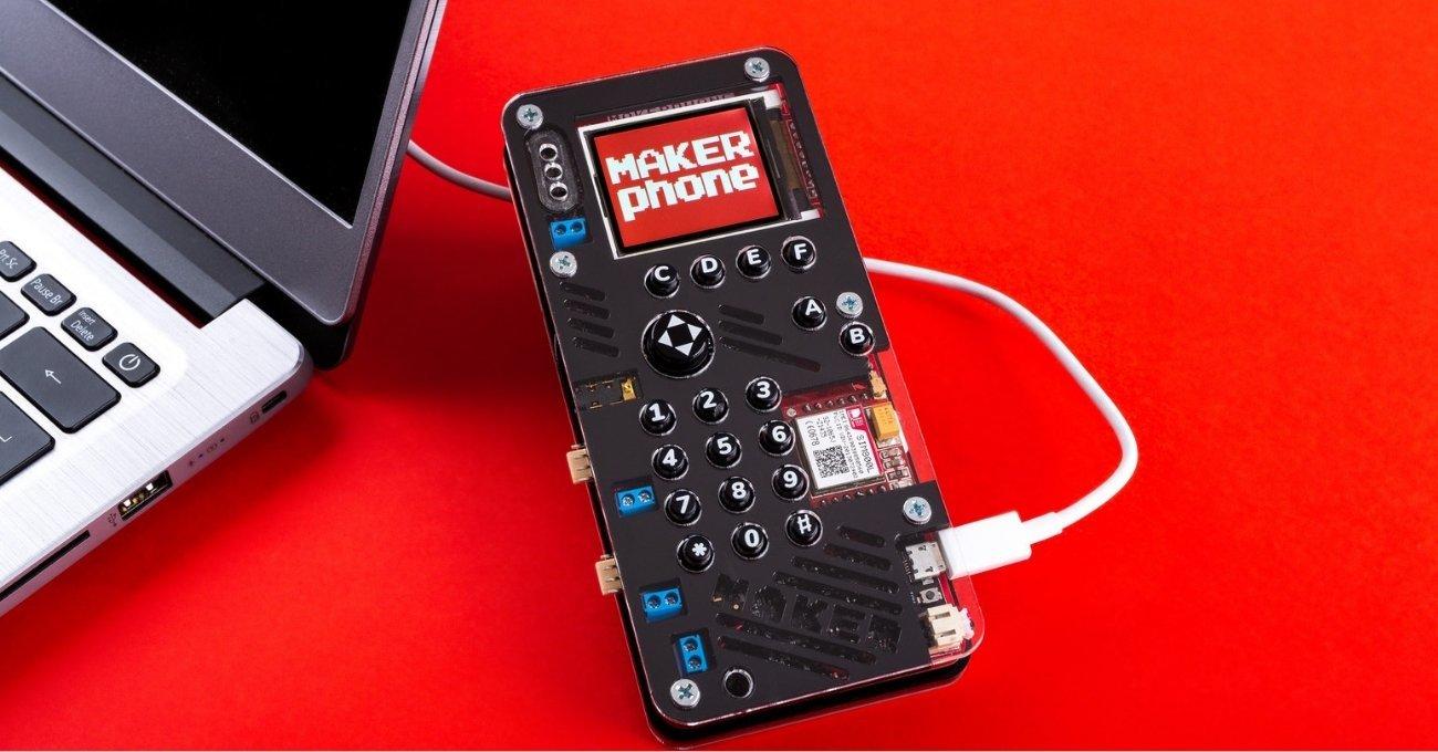 Kendin Yap Akıllı Telefon Kiti: MAKERphone