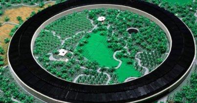 LEGO'dan Yapılmış Mini Apple Park