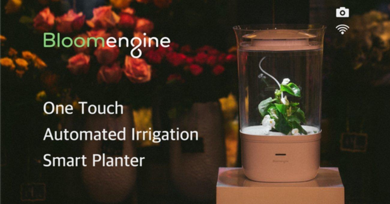 Bitkilerinizin Her İhtiyacını Karşılayan Akıllı Saksı: Bloomengine