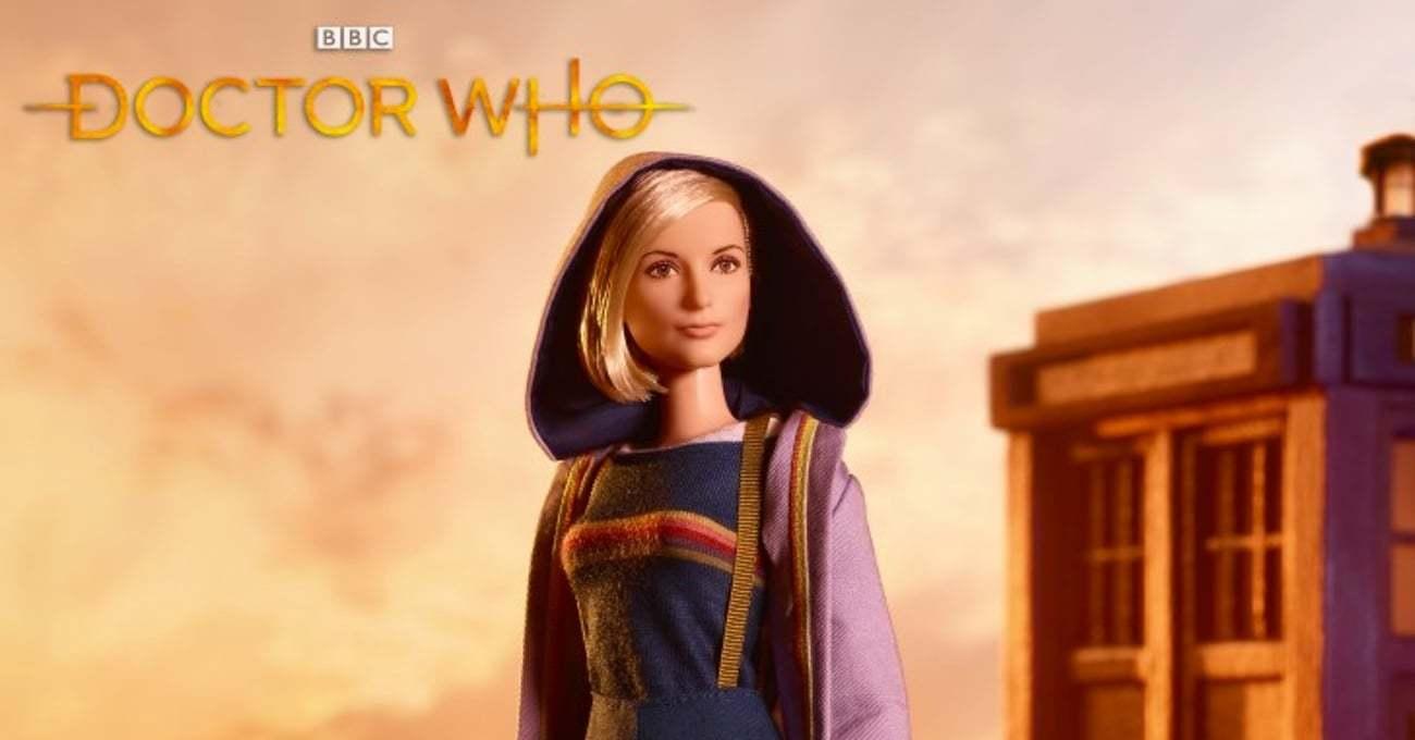 Doctor Who'nun 13. Doktoru Barbie Oluyor  [NYCC 2018]