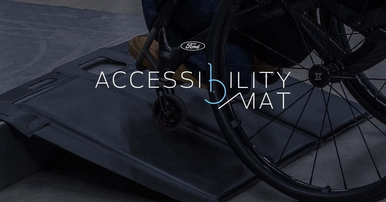 Ford, Bagaj Matını Tekerlekli Sandalyeliler için Rampaya Dönüştürdü