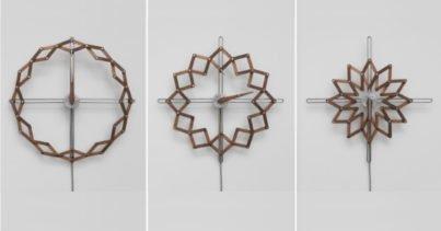 Kinetik Saat Solstice Zamana Sanat Katıyor