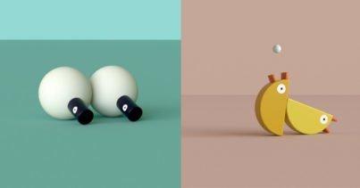 MINIMALS: Oyuncaklardan Türetilmiş Minimalist Karakterler