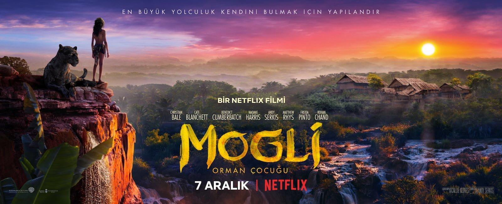 Netflix'ten Dev Kadrolu Bir Yapım: Mogli: Orman Çocuğu
