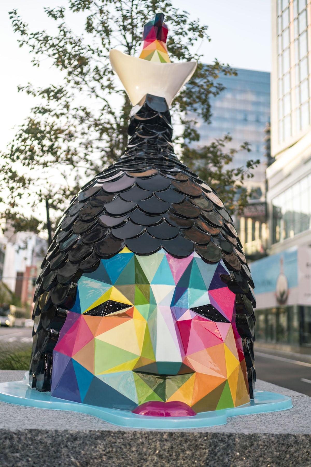 Okuda San Miguel'den Boston'a Rengarenk Heykeller