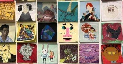 Yüzlerce Sanatçının Katılımıyla 14. Post-It Sergisi