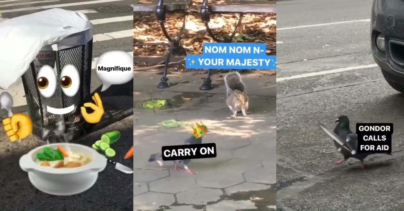 Instagram Araçlarıyla New York Sokaklarından Mini Öyküler