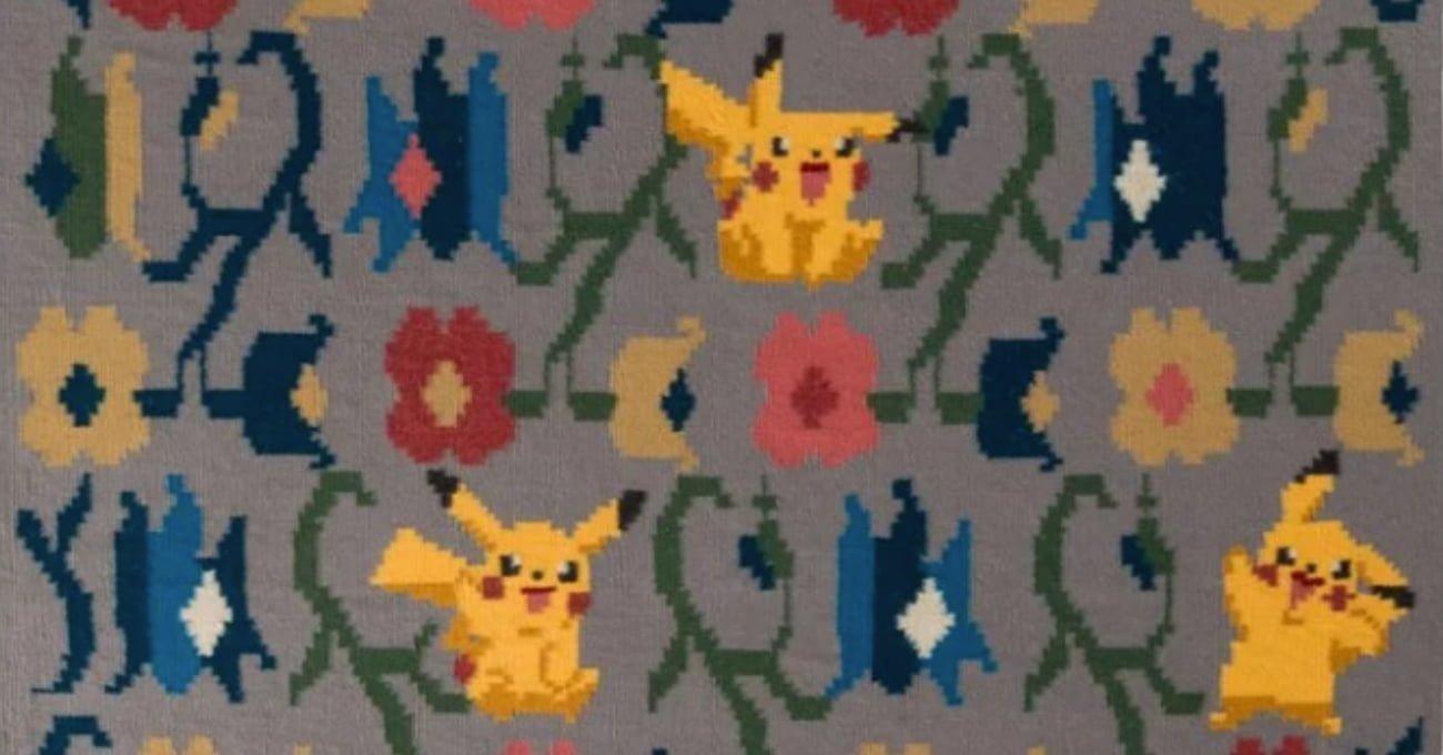 Geleneksel Halılarda Pokémon ve Star Wars Motifleri