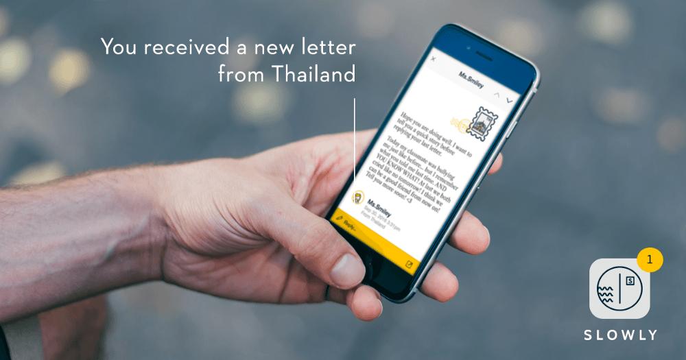 Slowly: Mektup Arkadaşlığını Günümüze Taşıyan Uygulama
