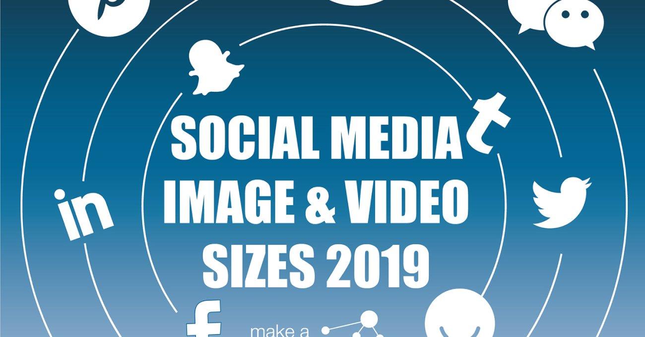 2019 Sosyal Medya Görsel Boyutları Kılavuzu
