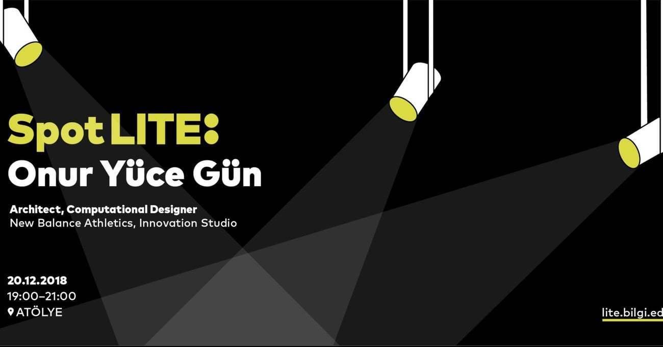 ATÖLYE ve Bilgi Üniversitesi'nin Konuğu Hesaplamalı Tasarımcı Onur Yüce Gün