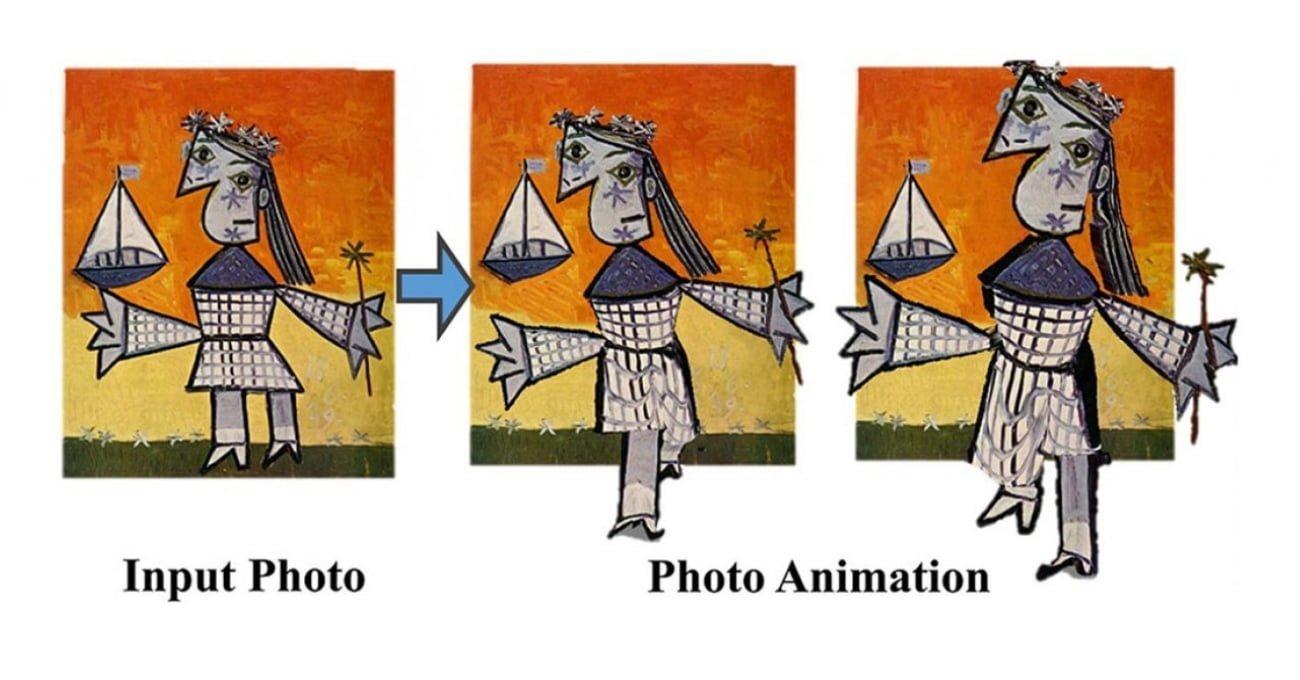 Photo Wake-Up Herhangi Bir 2B Figürü 3B Animasyona Dönüştüren Teknoloji
