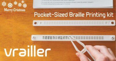 Kendin Yap Braille Baskı Kiti: Vrailler