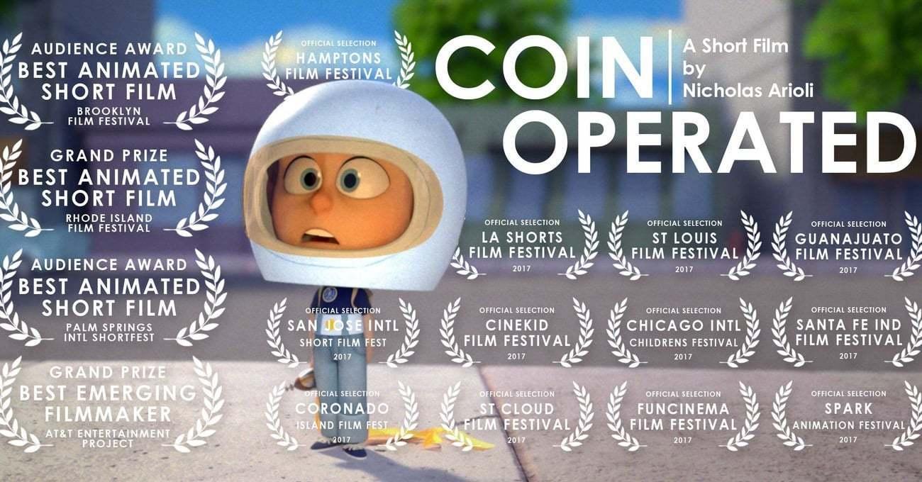 Nicholas Arioli'nin Bol Ödüllü Animasyon Kısası: Coin Operated