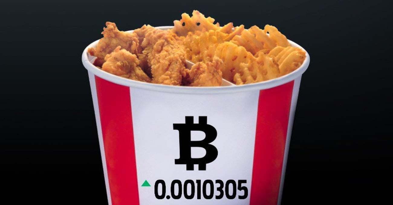 KFC'den Çıtır Çıtır Bitcoin Kovası