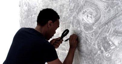 #69Cities: Şehirleri Tasvir Eden Dev İzlenimci Çizimler