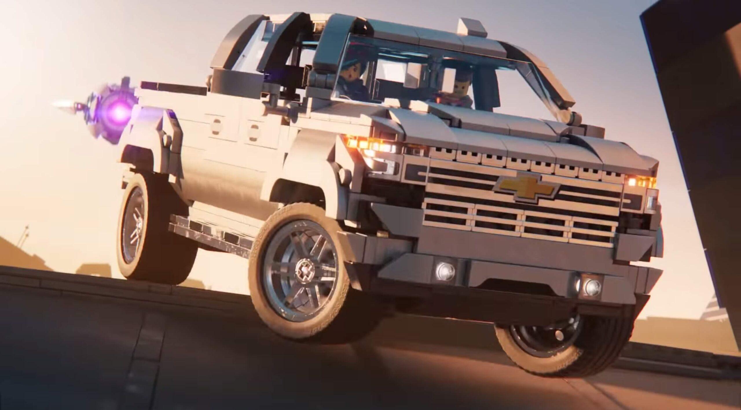 The LEGO Movie 2: The Second Part'ta Boy Gösteren Chevrolet Silverado