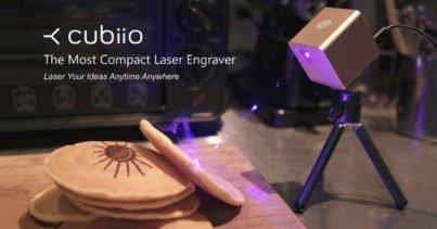 Cubiio: Masaüstü Lazer Kazıma Cihazı