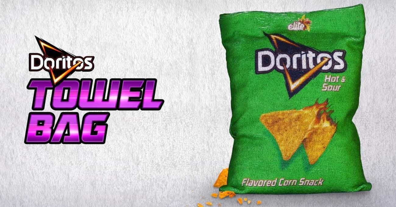 Yağlı Parmaklara Doritos'tan El Bezi Ambalajlar