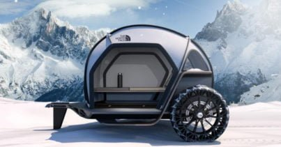 BMW ve North Face'ten FUTURELIGHT karavan