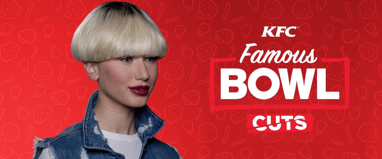 90'ların Saç Stilini Özleyenler KFC'ye