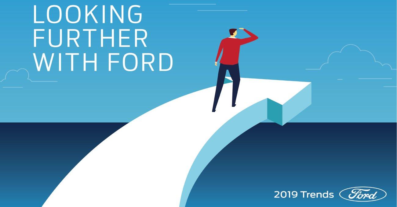 Ford'dan 2019'un Mobilite ve Teknoloji Trendleri
