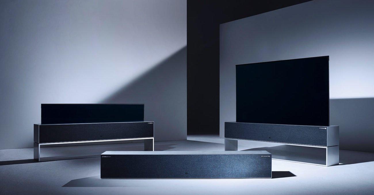 LG'den Kapandığında Kıvrılıp Kutuya Dönüşen Televizyon