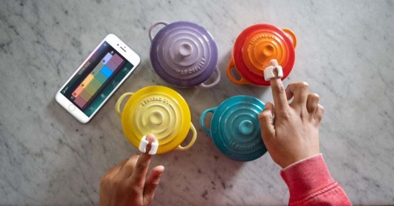 Sphero'dan Renkli Yüzeylerde Müzik Yapmanızı Sağlayan Yüzükler: Specdrums