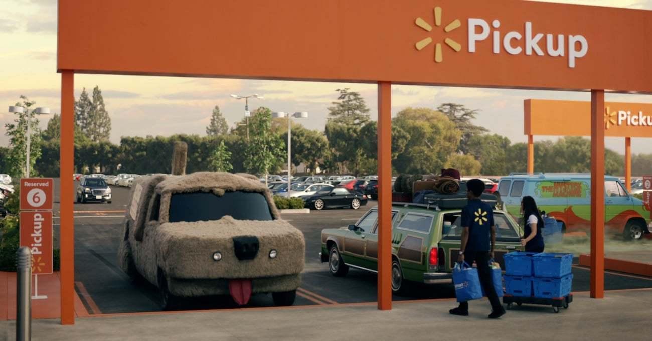 Ünlü Otomobiller Paket Servis İçin Walmart'a Geliyor