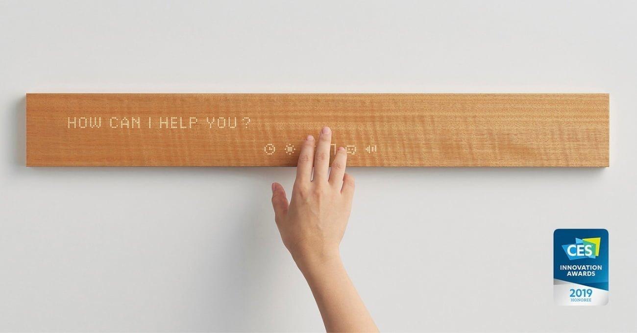 Mui: Evdeki Akıllı Cihazları Ekran Kirliliği Yaratmadan Yönetebilen Ahşap Blok